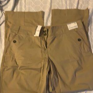 NY&Co Khaki Chino Pants Size 18 NWT